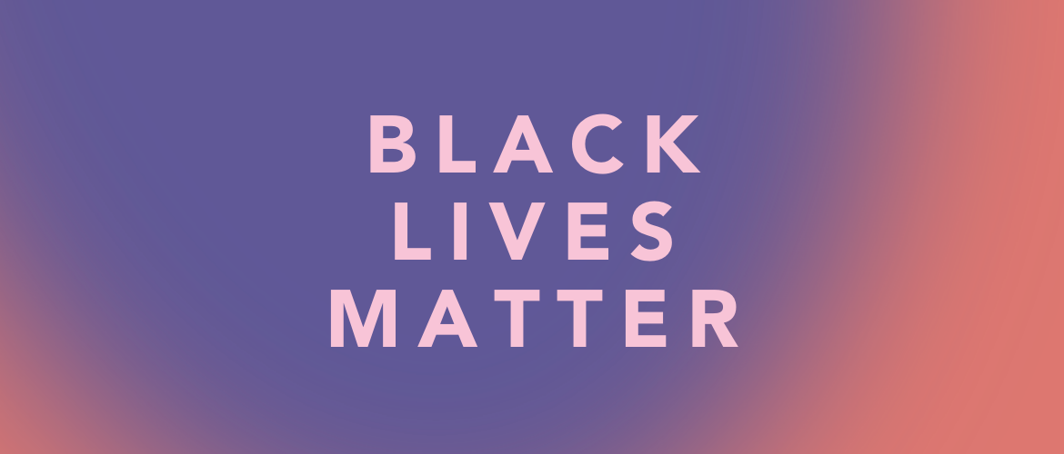 """the words """"black lives matter"""" on top of a gradient background"""