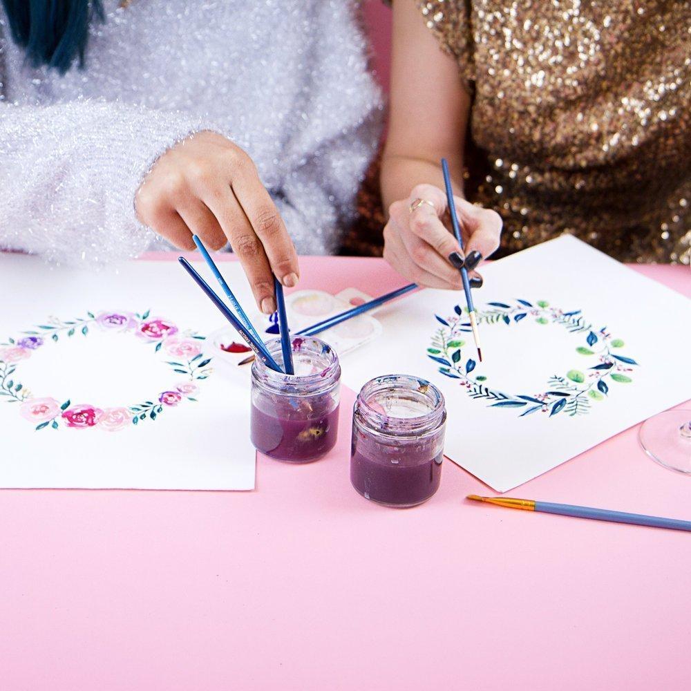 Watercolor Florals